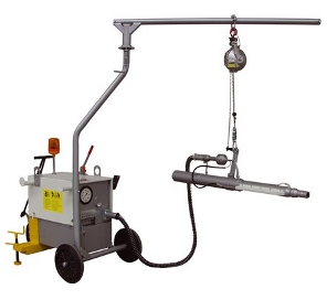 Prestressing Jack and Pump Unit with Counter Balance Picture